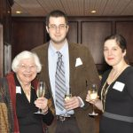Trustee Jean France and her grandson, Robert Jay Kahn and Brandy Ryan
